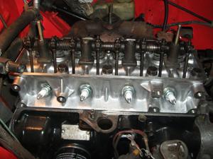 Głowica silnika 1108ccm po remoncie