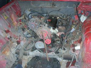 Silnik R4 1108ccm przed remontem